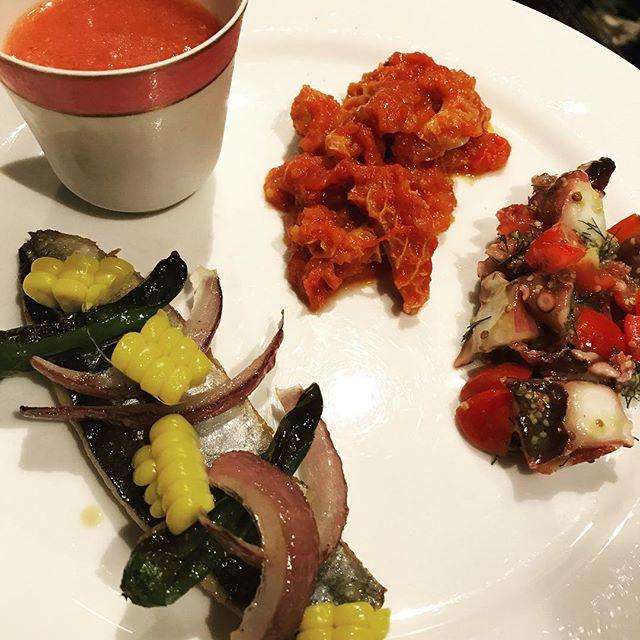 お一人様から前菜盛り合わせもできます。#nishiazabu #nogizaka #roppongi #tokyo #restaurant #bistrot #french #cuisine #hors-d'oeuvre #entree #entrée #西麻布 #六本木 #乃木坂 #前菜 #盛り合わせ #お一人様 #レストラン #ビストロ #フレンチ